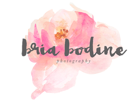 Bria Bodine Photograpy | Natural Light | Lifestyle | Stylized | Portrait Photography logo